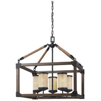 Dunning 5 Light 22 inch Stardust Chandelier Ceiling Light