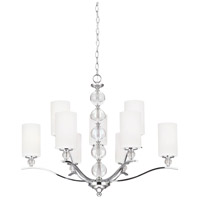 Englehorn 9 Light 32 inch Chrome Chandelier Ceiling Light