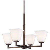Sea Gull 3113704EN3-778 Ellis Harper 4 Light 25 inch Brushed Oil Rubbed Bronze Chandelier Ceiling Light alternative photo thumbnail