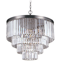 Sea Gull Carondelet 6 Light Chandelier in Antique Brushed Nickel 3114006-965