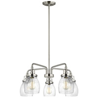 Belton 5 Light 24 inch Brushed Nickel Chandelier Ceiling Light
