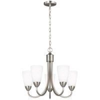 Sea Gull 3120205EN3-962 Seville 5 Light 21 inch Brushed Nickel Chandelier Ceiling Light