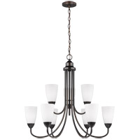 Sea Gull 3120209EN3-710 Seville 9 Light 29 inch Burnt Sienna Chandelier Ceiling Light