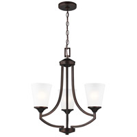 Burnt Sienna Steel Hanford Chandeliers