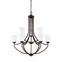 Hanford 9 Light 33 inch Burnt Sienna Chandelier Ceiling Light