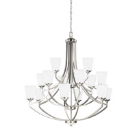 Hanford 15 Light 43 inch Brushed Nickel Chandelier Ceiling Light