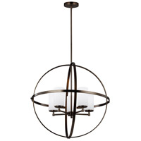 Sea Gull 3124605-778 Alturas 5 Light 27 inch Brushed Oil Rubbed Bronze Chandelier Ceiling Light