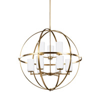 Alturas 9 Light 33 inch Satin Bronze Chandelier Ceiling Light
