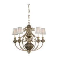 Sea Gull Lighting Highlands 5 Light Chandelier in Palladium 31251-824