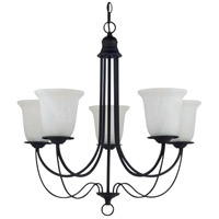 Sea Gull Lighting Plymouth 5 Light Chandelier in Blacksmith 31292-839