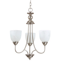Sea Gull Lighting Lemont Fluorescent 3 Light Chandelier in Antique Brushed Nickel 31316BLE-965
