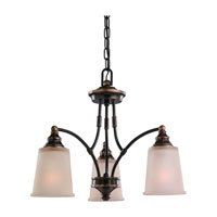 Sea Gull Lighting Warwick 3 Light Chandelier in Vintage Bronze 31330-825 photo thumbnail