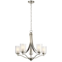 Sea Gull 3137305EN3-962 Elmwood Park 5 Light 26 inch Brushed Nickel Chandelier Ceiling Light