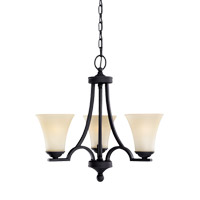 Somerton 3 Light 20 inch Blacksmith Chandelier Ceiling Light