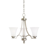 Somerton 3 Light 20 inch Antique Brushed Nickel Chandelier Ceiling Light
