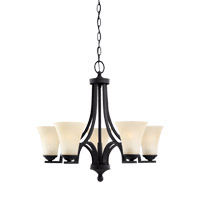 Somerton 5 Light 25 inch Blacksmith Chandelier Ceiling Light