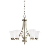 Somerton 5 Light 25 inch Antique Brushed Nickel Chandelier Ceiling Light