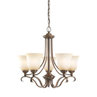 Parkview 5 Light 24 inch Russet Bronze Chandelier Ceiling Light