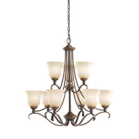 Parkview 9 Light 31 inch Russet Bronze Chandelier Ceiling Light