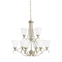 Parkview 9 Light 31 inch Antique Brushed Nickel Chandelier Ceiling Light
