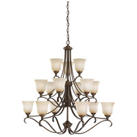 Sea Gull Lighting Parkview 15 Light Chandelier in Russet Bronze 31382-829