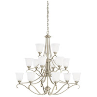 Sea Gull Lighting Parkview 15 Light Chandelier in Antique Brushed Nickel 31382-965 photo thumbnail
