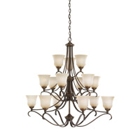 Parkview 15 Light 43 inch Russet Bronze Chandelier Ceiling Light