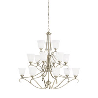 Parkview 15 Light 43 inch Antique Brushed Nickel Chandelier Ceiling Light