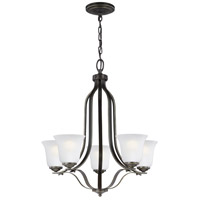 Emmons 5 Light 24 inch Heirloom Bronze Chandelier Ceiling Light