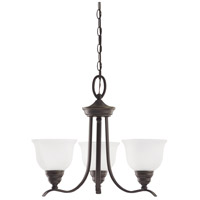 Wheaton 3 Light 22 inch Heirloom Bronze Chandelier Ceiling Light in Standard