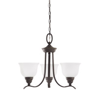 Wheaton 3 Light 22 inch Heirloom Bronze Chandelier Ceiling Light