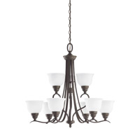 Wheaton 9 Light 31 inch Heirloom Bronze Chandelier Ceiling Light