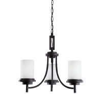Sea Gull 31660EN3-839 Winnetka 3 Light 21 inch Blacksmith Chandelier Ceiling Light