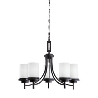 Sea Gull 31661EN3-839 Winnetka 5 Light 25 inch Blacksmith Chandelier Ceiling Light