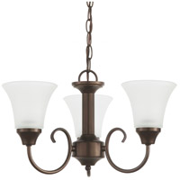 Sea Gull Lighting Holman 3 Light Chandelier in Bell Metal Bronze 31806-827 photo thumbnail