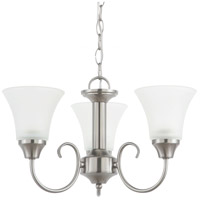 Holman 3 Light 18 inch Brushed Nickel Chandelier Ceiling Light