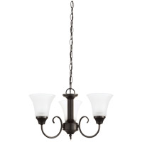 Sea Gull 31806EN3-782 Holman 3 Light 18 inch Heirloom Bronze Chandelier Ceiling Light