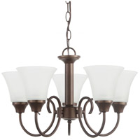 Sea Gull 31808-827 Holman 5 Light 20 inch Bell Metal Bronze Chandelier Ceiling Light photo thumbnail