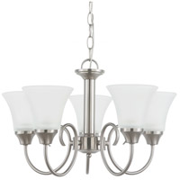 Sea Gull 31808-962 Holman 5 Light 20 inch Brushed Nickel Chandelier Ceiling Light