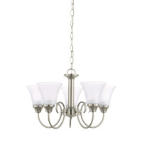 Sea Gull 31808EN3-962 Holman 5 Light 20 inch Brushed Nickel Chandelier Ceiling Light