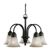 Sea Gull Lighting Gladstone 5 Light Chandelier in Heirloom Bronze 31851-782