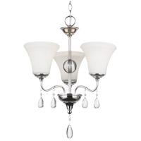 West Town 3 Light 17 inch Chrome Chandelier Ceiling Light in Standard