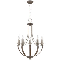 Sea Gull 3280405-872 Corbeille 5 Light 22 inch Washed Pine Chandelier Ceiling Light