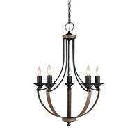 Sea Gull 3280405EN-846 Corbeille 5 Light 22 inch Stardust Chandelier Ceiling Light