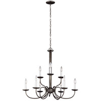 Holman 9 Light 28 inch Heirloom Bronze Chandelier Ceiling Light