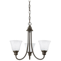 Sea Gull Lighting Windgate 3 Light Chandelier in Heirloom Bronze 35939-782