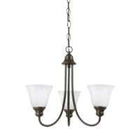 Windgate 3 Light 20 inch Heirloom Bronze Chandelier Ceiling Light
