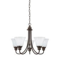 Windgate 5 Light 21 inch Heirloom Bronze Chandelier Ceiling Light