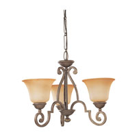 Sea Gull Lighting Brandywine 3 Light Chandelier in Antique Bronze 39031BLE-71 photo thumbnail
