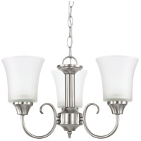 Sea Gull Holman 3 Light Chandelier in Brushed Nickel 39806BLE-962 photo thumbnail